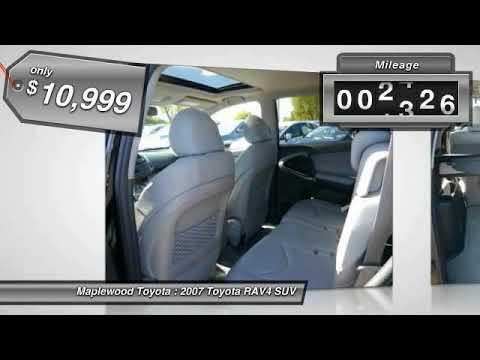 2007 Toyota RAV4 Limited Maplewood, St Paul, Minneapolis, Brooklyn Park, MN H14590A