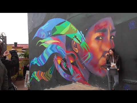 Visit Bogota: Walk Down Colorful Graffiti Street