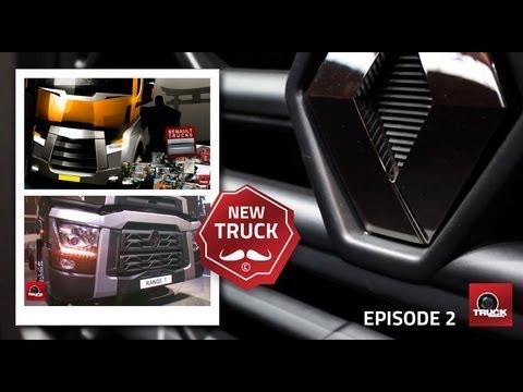 Présentation de la nouvelle gamme Renault Trucks en video - Reportage Truckeditions épisode 2