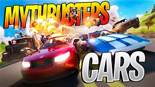 Cars Mythbusters And REVIEW (Everything You Ever Wanted To Know About CARS In Fortnite)