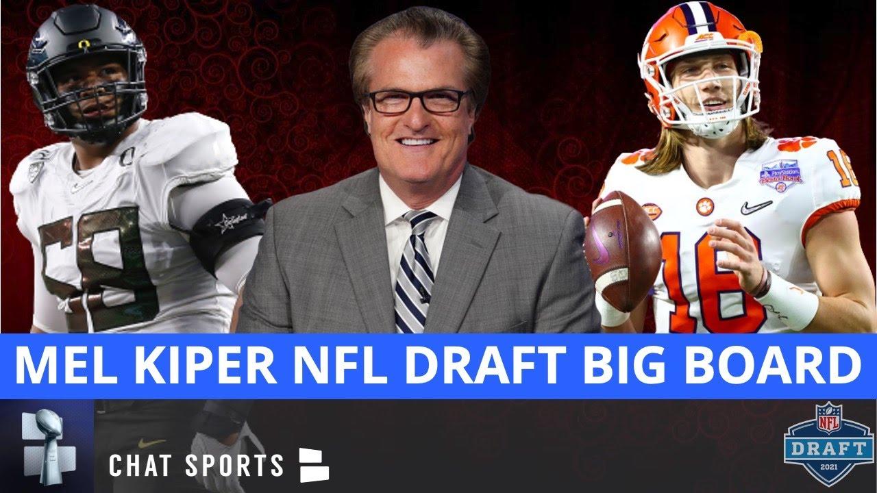 Download Mel Kiper's 2021 NFL Draft Big Board - UPDATED Top 25 Prospect Rankings