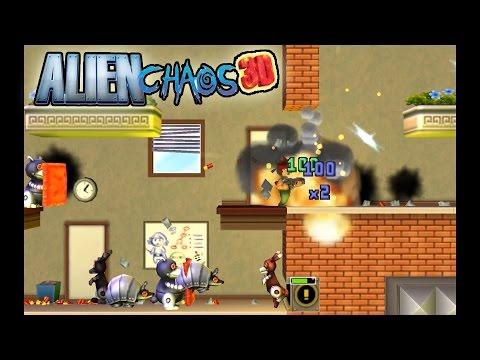 Citra Emulator (CPU JIT) - Alien Chaos 3D [1080p] - Nintendo 3DS - 동영상