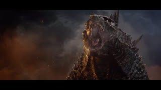 Godzilla kills the male M.U.T.O.
