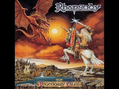 Rhapsody - Legendary Tales (Limb Music) [Full Album]