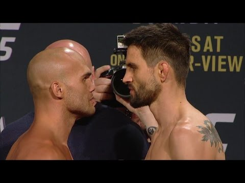 Watch the full Robbie Lawler vs. Carlos Condit weigh-in