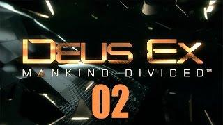 Deus Ex: Mankind Divided - Прохождение pt2 - М1: Покупка на черном рынке