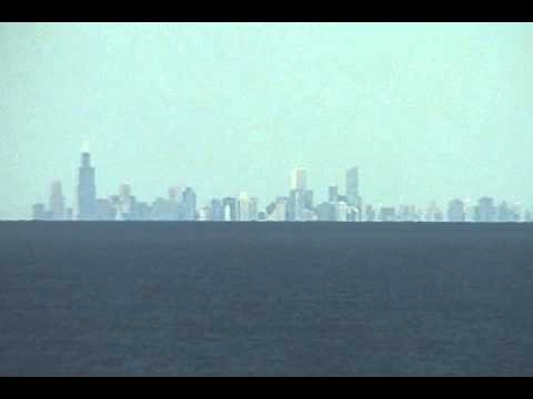 Chicago Viewed From Michigan City Indiana Youtube