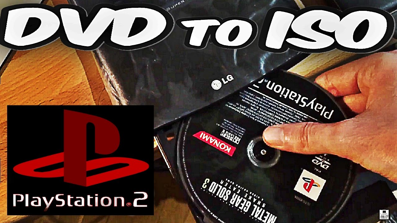 TUTORIAL] [BACKUPS] How to RIP a PS2 GAME (DISC) to ISO