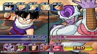 Dragon Ball Z: Budokai Tenkaichi 3 All Gohan vs Villains (Custom)