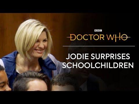 SURPRISE! Jodie Whittaker Surprises Schoolchildren | Doctor Who