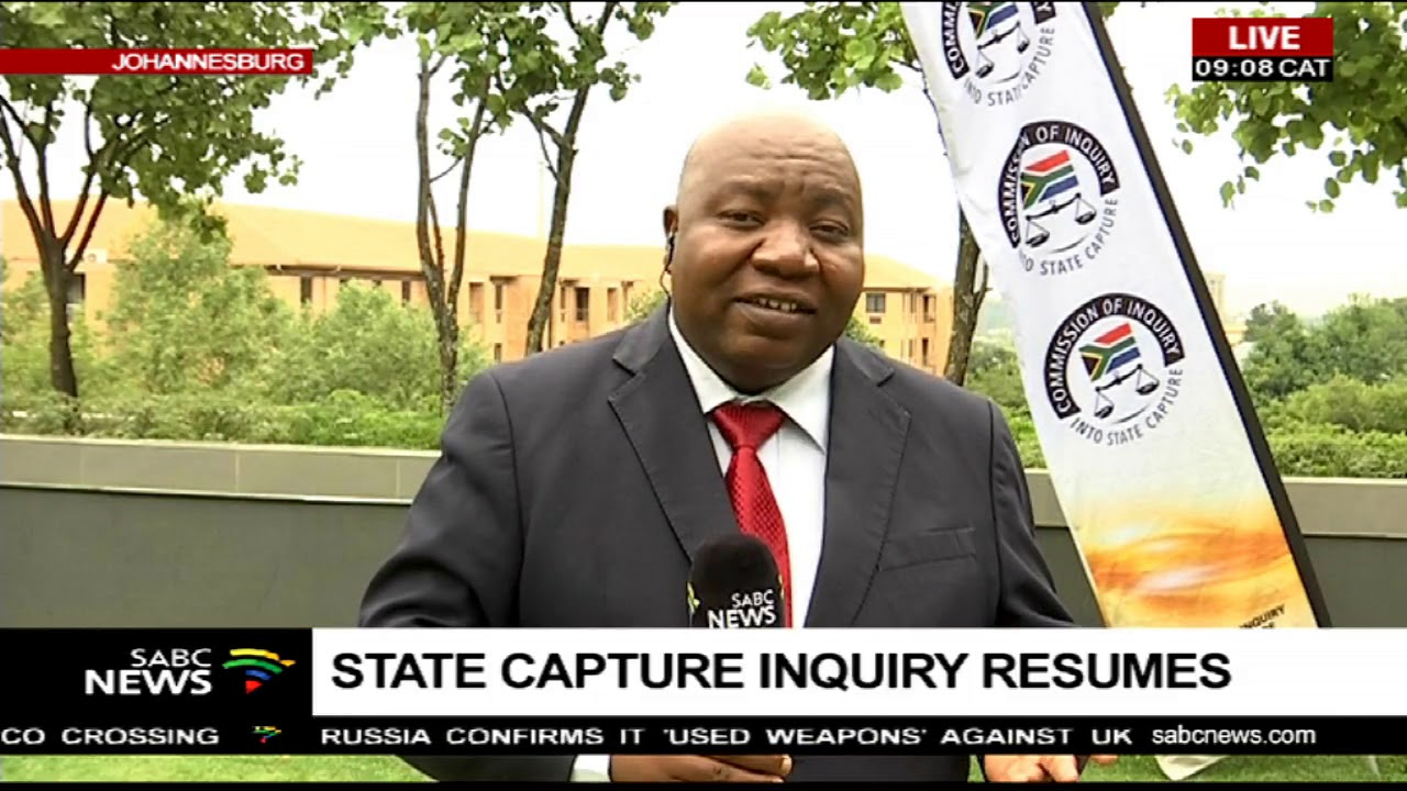 State Capture Inquiry resumes