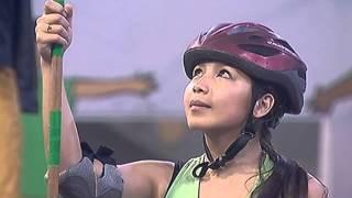 Dawn at Miho, ibinigay ang lahat para sa huling big jump challenge