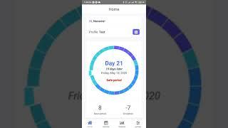 Woman's Diary - The menstrual cycle app, woman tracker & logs app screenshot 4