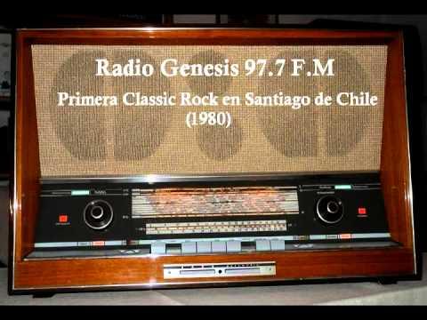Radio Genesis 97.7 FM - Fue la Primera Classic Rock en Santiago