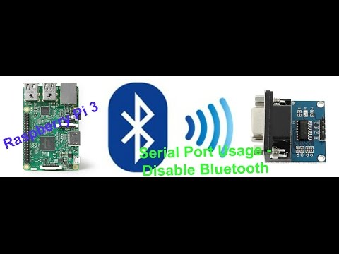 Raspberry Pi 3 Serial Port Usage - Disable Bluetooth