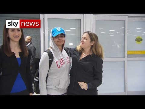 Saudi teenager who fled 'abusive' family arrives in Canada