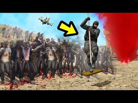 GTA 5 - ZOMBIES APOCALYPSE MOD!! (GTA 5...