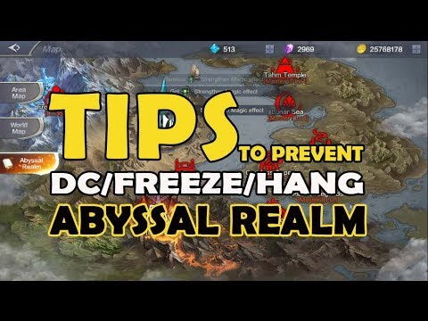 MU Origin 2 - Tips to prevent Disconnection Freeze Hang problem in Abyssal  Realm + Bonus Tips