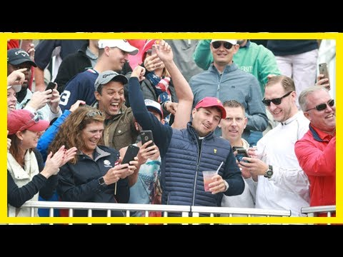 Breaking News | Watch rickie fowler, kevin kisner join presidents cup fans, pump them up