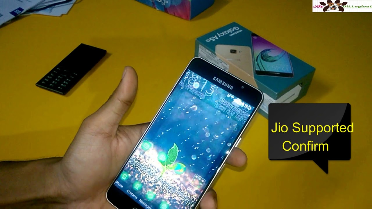 Samsung Galaxy A5 (2016) jio support or Not ? Lets Check out