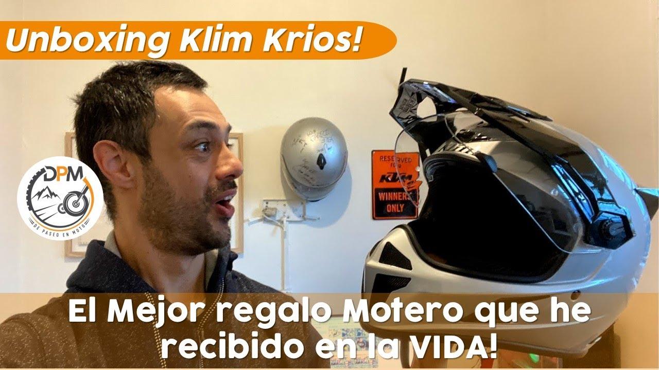 Un Suscriptor Me Regala el Mejor Casco del Mundo Mundial 😱😱!! UnBoxing Klim Krios!🧐