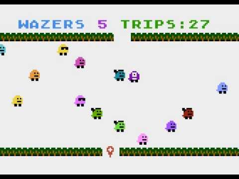 Wazers - Atari game for NOMAM BASIC 10Liners Contest 2020