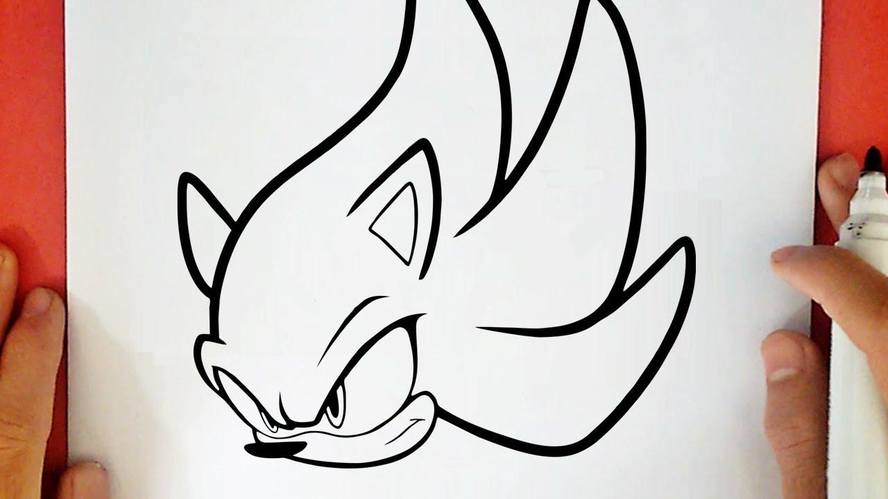 Como Desenhar O Super Sonic