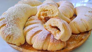 Булочки как пух с ореховым заварным кремом Рецепт от Ольги Матвей