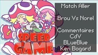 Speed Game: Puyo-poyo Match Aller + Débat sur la communauté