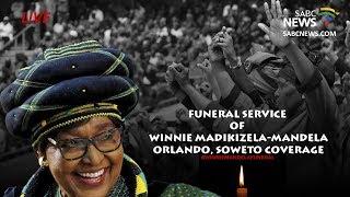 Mama Winnie Madikizela-Mandela funeral coverage Orlando, Soweto
