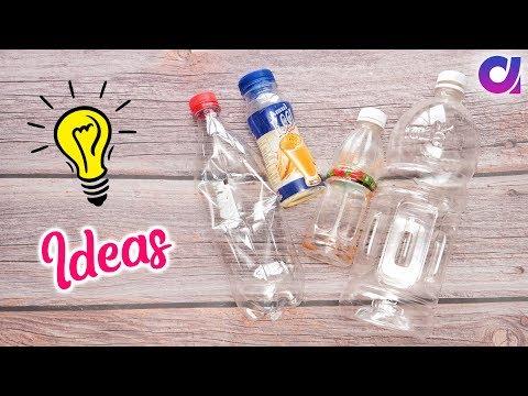 10 Best out of waste Plastic Bottle Craft idea | DIY Home Decor | Artkala