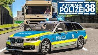 Völlig betrunkener LKW-Fahrer! AUTOBAHNPOLIZEI-SIMULATOR 2 #38   Police Simulator 2 deutsch