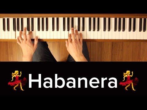 Habanera (Carmen) [Piano Tutorial]