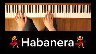 Video Habanera (Carmen) [Piano Tutorial] download MP3, 3GP, MP4, WEBM, AVI, FLV September 2018