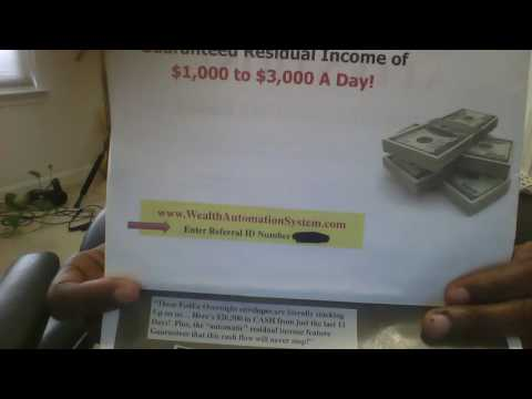 Wealth Automation System (STOP Before You Sign up Watch This!!!!!!!)