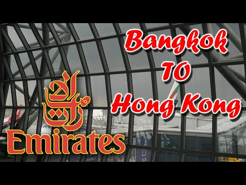 Emirates EK380 Airbus A380 Trip Report (ECONOMY CLASS)  Bangkok to Hongkong
