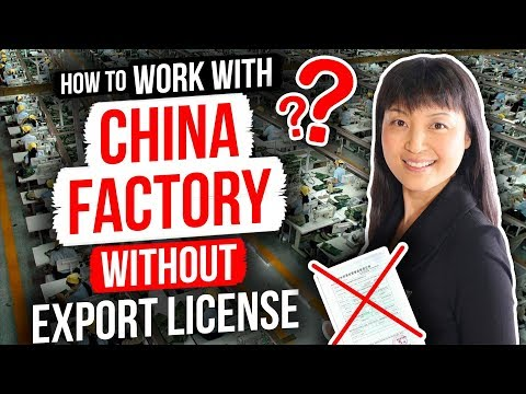 😨😨CHINESE FACTORY WITHOUT EXPORT LICENSE?| RISKS AND PROTECTION