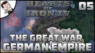 THE BIG PUSH INVADING FRANCE! The Great War Mod Gameplay (Hearts of Iron 4) Part 5
