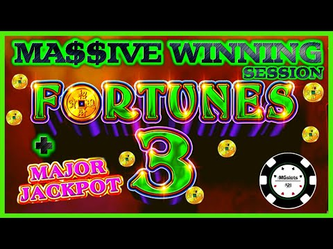 ⭐️HIGH LIMIT Fortunes 3 - Echo Fortunes (2) HANDPAY JACKPOTS ⭐️EPIC MASSIVE WINNING SESSION ⭐️