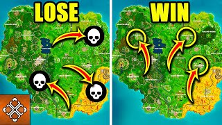5 Worst And 5 Best Fortnite Locations To Land If You Want A Victory Royale