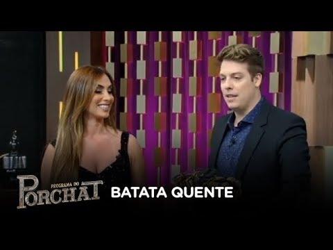Fábio Porchat e Nicole Bahls vencem o Batata Quente