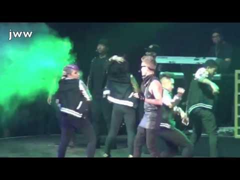 Hot 995 Jingle Ball-Austin Mahone, Cher Lloyd, PSY, and Justin Bieber