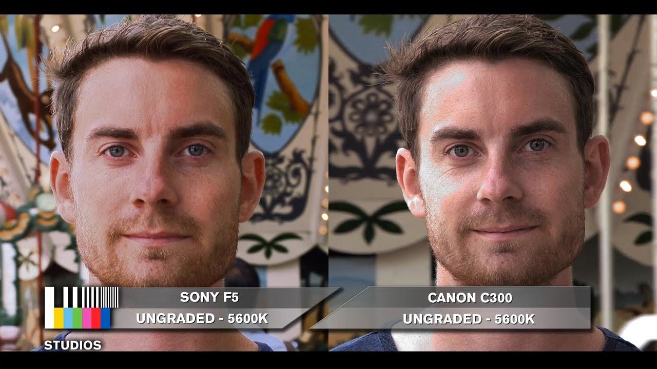 Sony F5 vs C300 Comparison