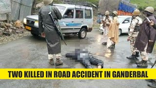 Two killed in road accident in Ganderbal
