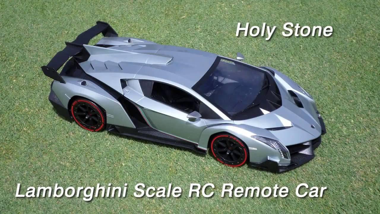 Holy Stone Rc Car Lamborghini Veneno 1 14 Scale Youtube