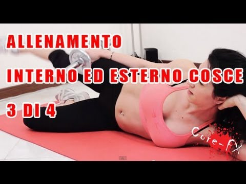Allenamento Gambe Esterno E Interno Coscia 3 Di 4 Youtube