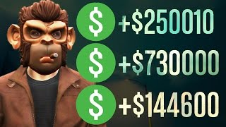Gta 5 online best ways to make money fast & easy! like subscribe for more videos! twitter: https://twitter.com/chaoticravenger facebook: http://www.f...