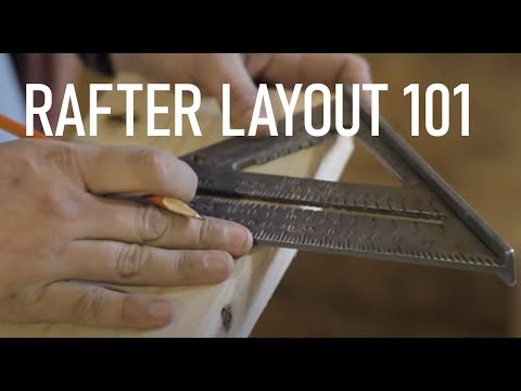 Roof Framing Part 2: Rafter Layout