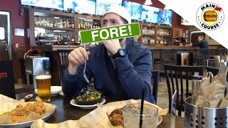 Golf Food Review - McWethy's Sports Bar at Mistwood Golf Dome