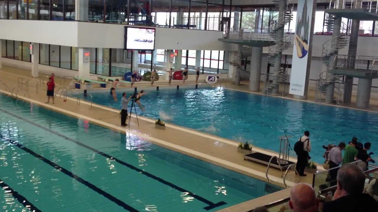 Diving Display At The Reopening Of The Royal Commonwealth Pool Youtube